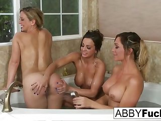 3-way lesbian fun with abigail, cherie and destiny