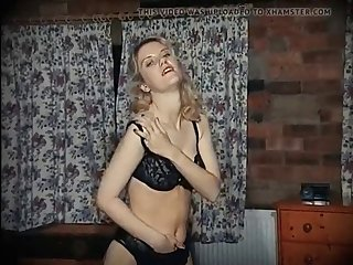 pour some sugar on me - stockings blonde dance strip