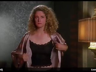 nancy travis & olivia d'abo sexy with the addition of bikini movie scenes